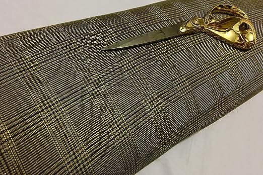 Cheapest Fabrics UK Tela de Mezcla de Lana, Color Verde ...