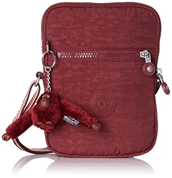 eebb73104a1 Amazon.com | Kipling ESSYLA Messenger Bag, 21 cm, 0.5 liters, Brown (Burnt  Carmine M) | Messenger Bags