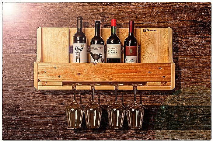Weinregal aus Europalette: Amazon.de: Handmade
