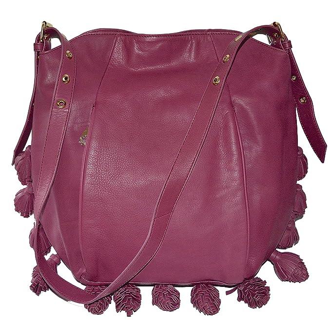 57a31b5782 Cynthia Rowley Hobo Shoulder Bag Kassia Purse Handbag Leather  Amazon.ca   Clothing   Accessories
