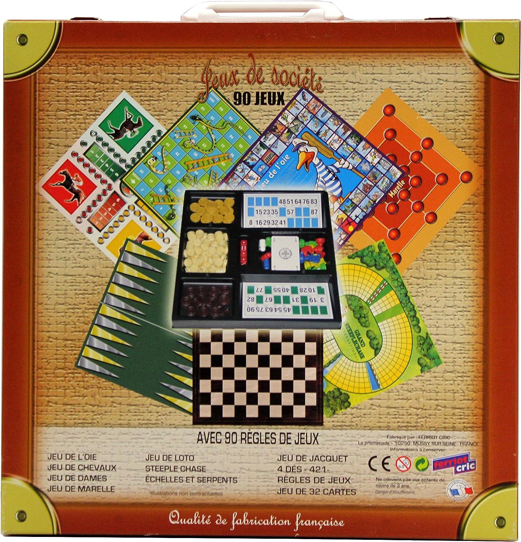 Ferriot Jack SA - Juego de Mesa - Caso 90 Juegos: Amazon.es: Juguetes y juegos