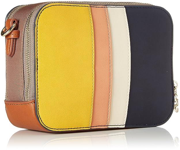 Bols_tutticolori Jasper, Womens Cross-Body Bag, Blau (Marino), 7.5x15x19.5 cm (B x H T) Desigual