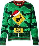 Blizzard Bay Men's Ugly Christmas Sweater Reindeer