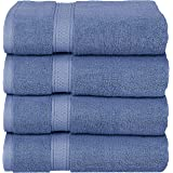 Utopia Towels - Bath Towels Set, Electric Blue - Premium 600 GSM 100% Ring Spun Cotton - Quick Dry, Highly Absorbent, Soft Fe