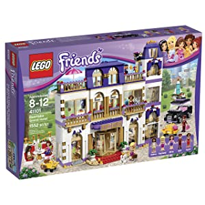 Best LEGO Friends 41101 Heartlake Grand Hotel Building Kit sets for girls