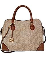 Calvin Klein Crossbody Signature Canvas Bag Handbag Womens