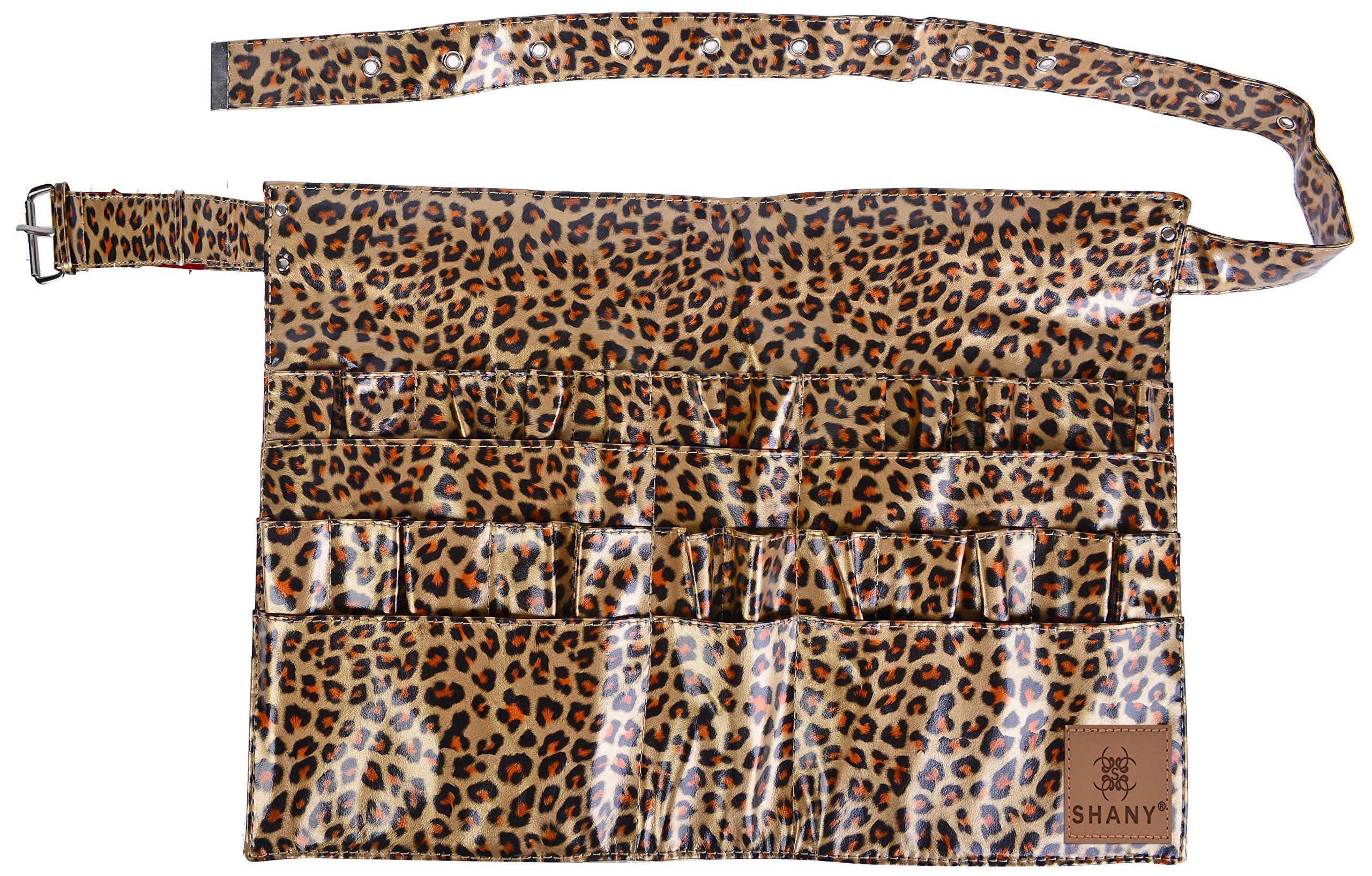 SHANY Urban Gal Collection Brush Holder/Apron/Organizer, Apron Only, Leopard