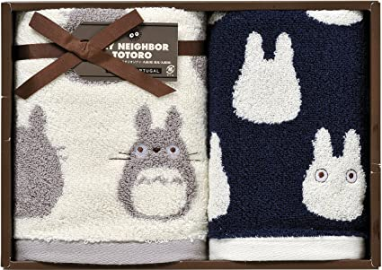 Amazon Studio Ghibli My Neighbor Totoro Towel Set Japanese