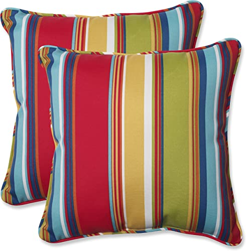 Pillow Perfect 564210 Outdoor/Indoor Westport Garden Throw Pillow
