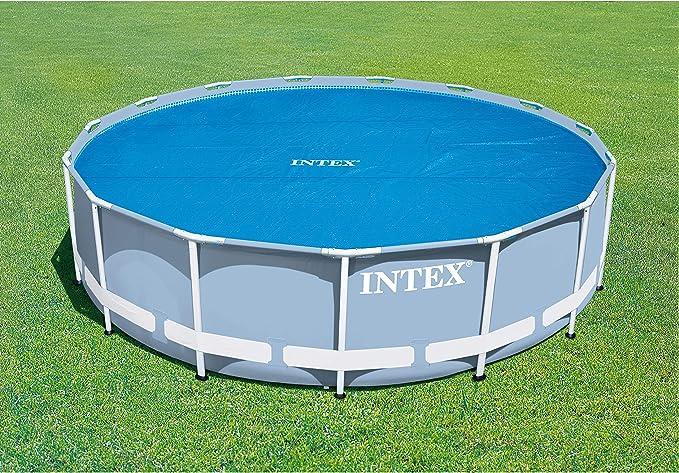Intex 29023 - Cobertor Solar Para Piscina easy Set / Metal Frame ...