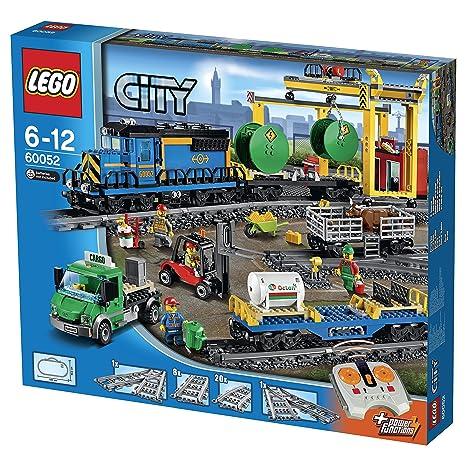 Lego City 60052 Tren De Mercancias Amazon Es Juguetes Y Juegos
