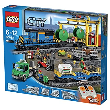 Lego City 60052 Güterzug Spielzeug Amazonde Spielzeug
