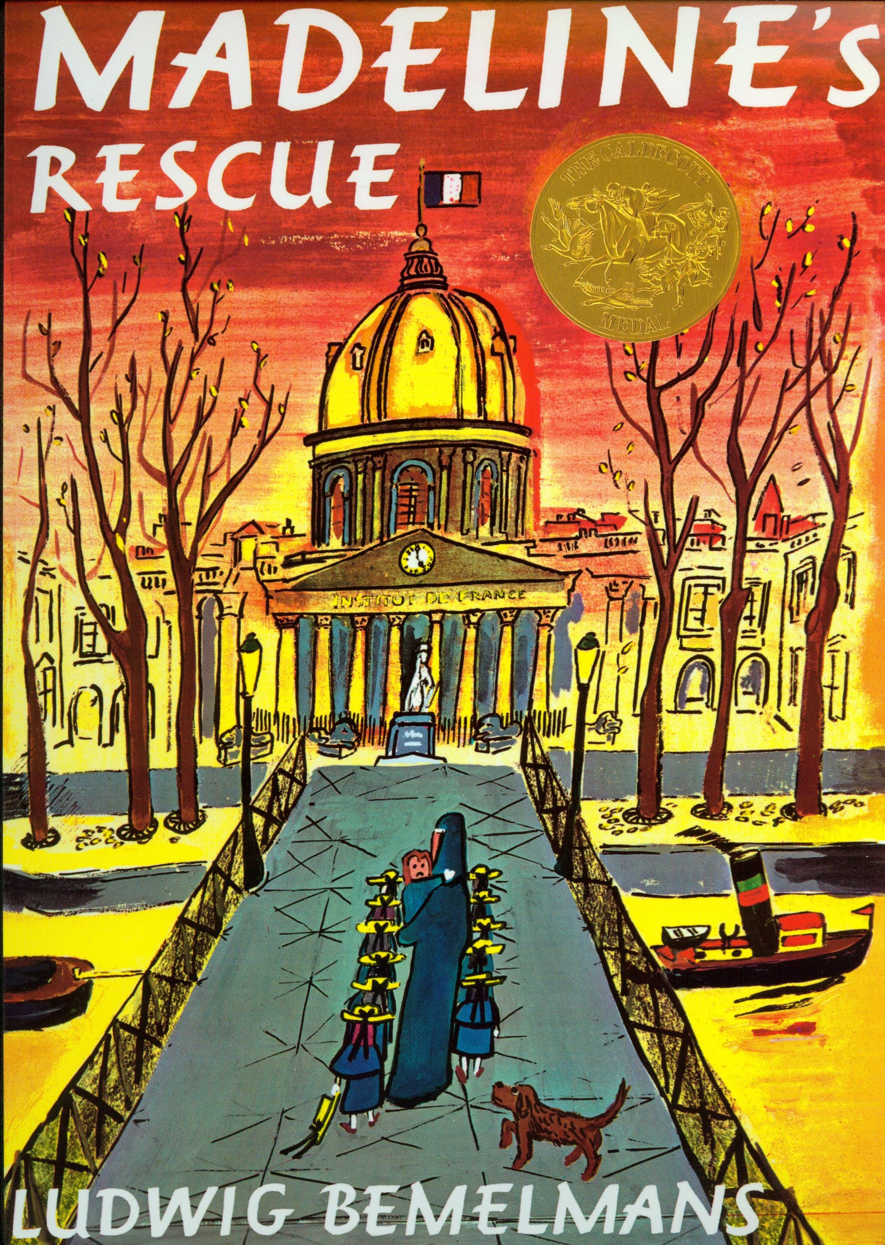 Madeline's Rescue (with Audio CD) (Live Oak Readalongs)