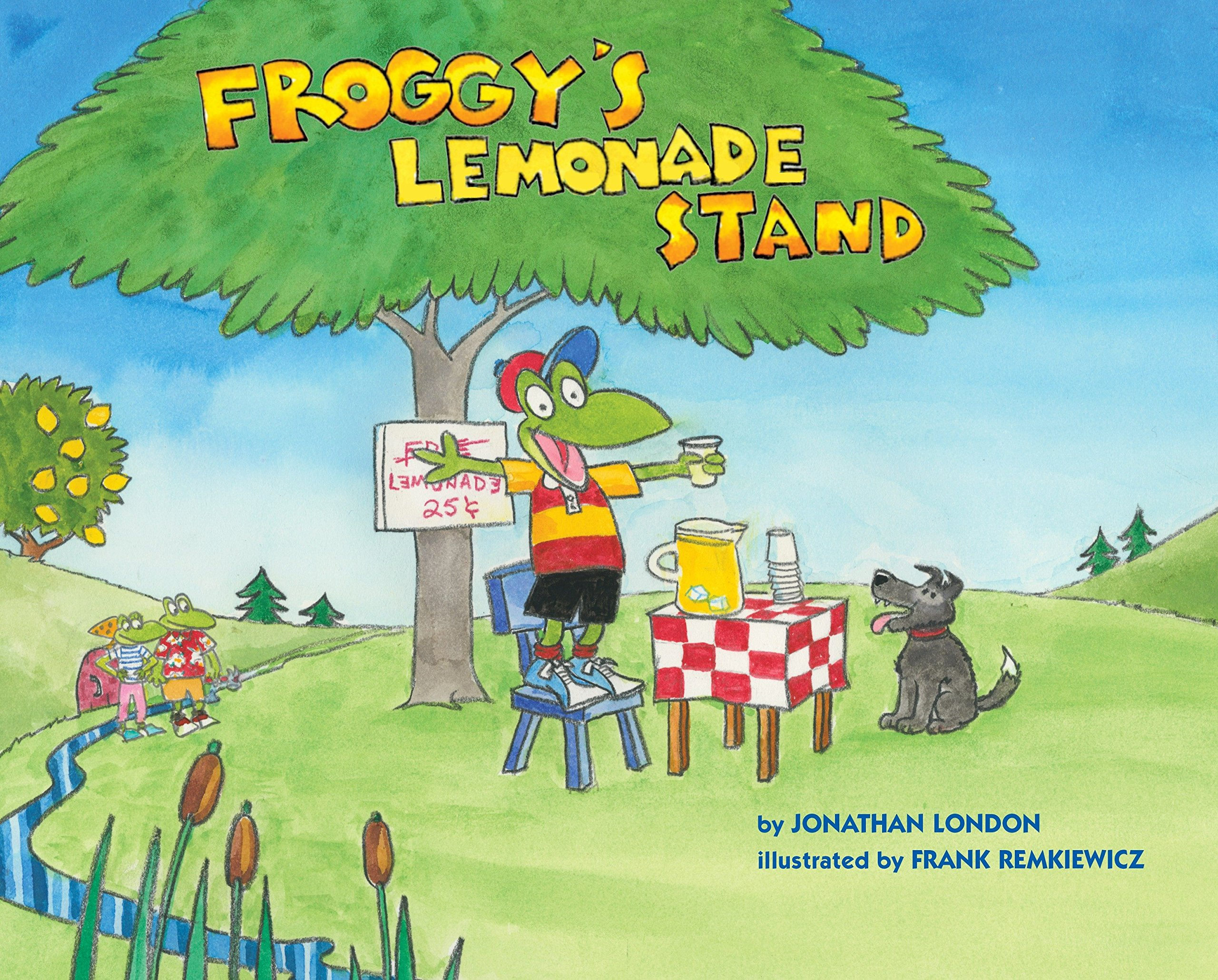 Froggy's Lemonade Stand