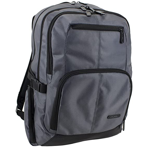 Fuel Force Capacitor Laptop Backpack Graphite Gray