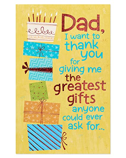 Amazon American Greetings Funny Greatest Gifts Birthday Card