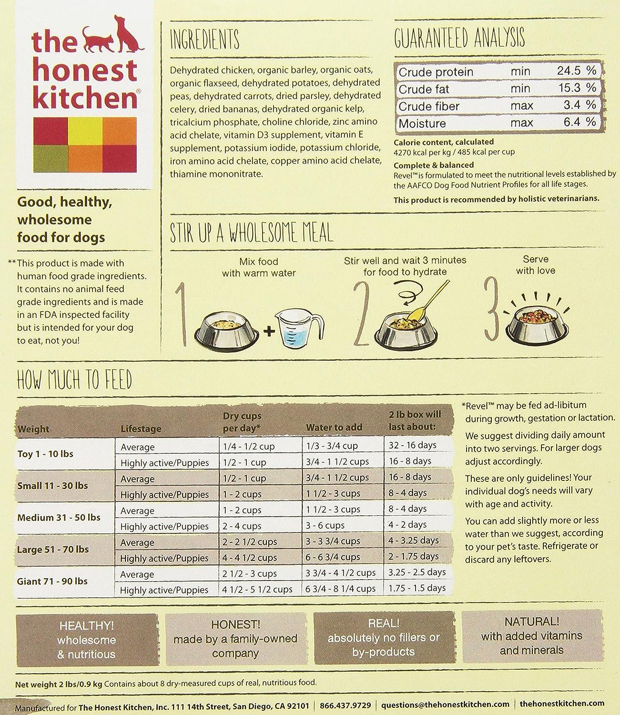 the honest kitchen revel organic whole grain dog food natural