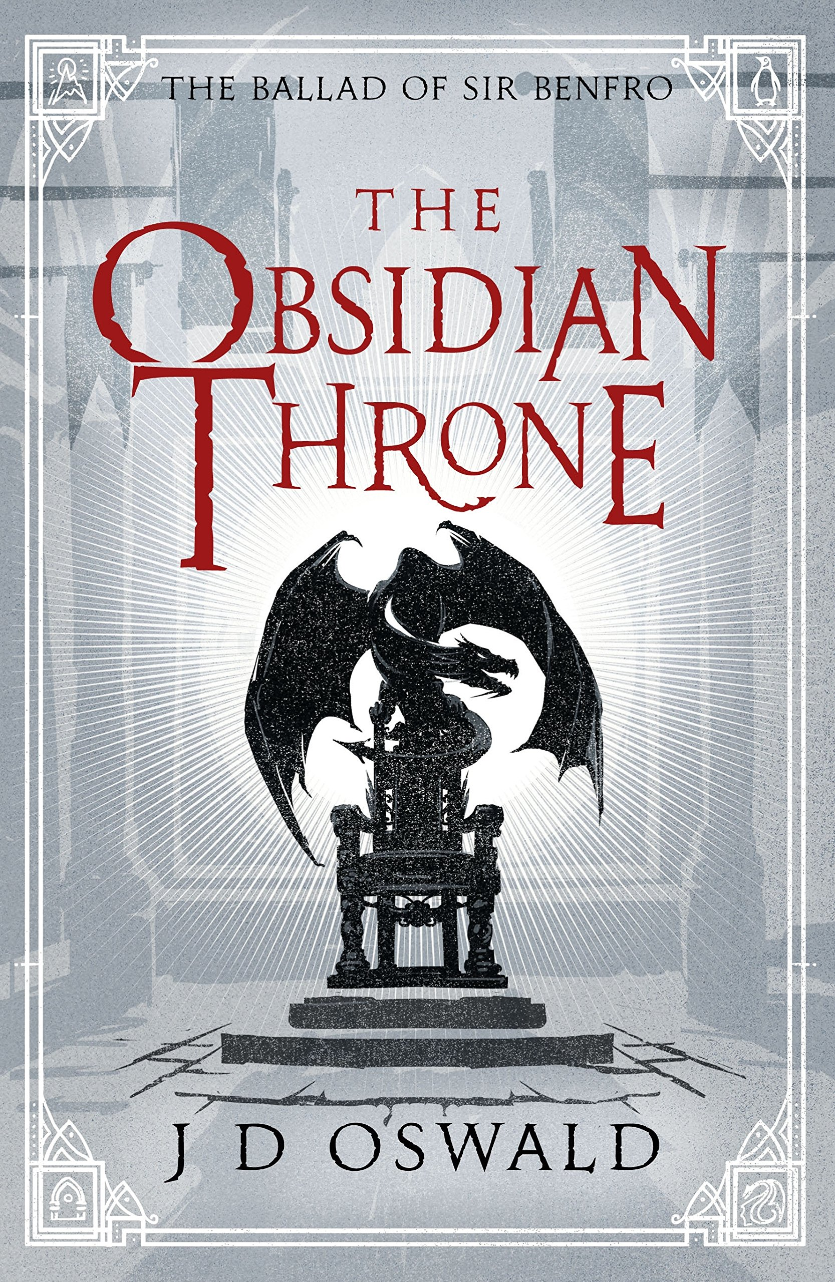 Amazon james oswald books biography blogs audiobooks kindle the obsidian throne the ballad of sir benfro fandeluxe Gallery