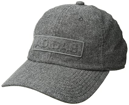 latest fashion official photos coupon code adidas Men's Ultimate Plus Baseball Cap, Black Chambray, One ...