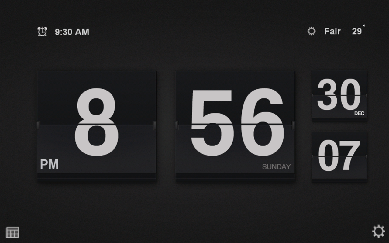 Alarm Clock Live - with News, Weather, Animated Backgrounds, and a Flashlight