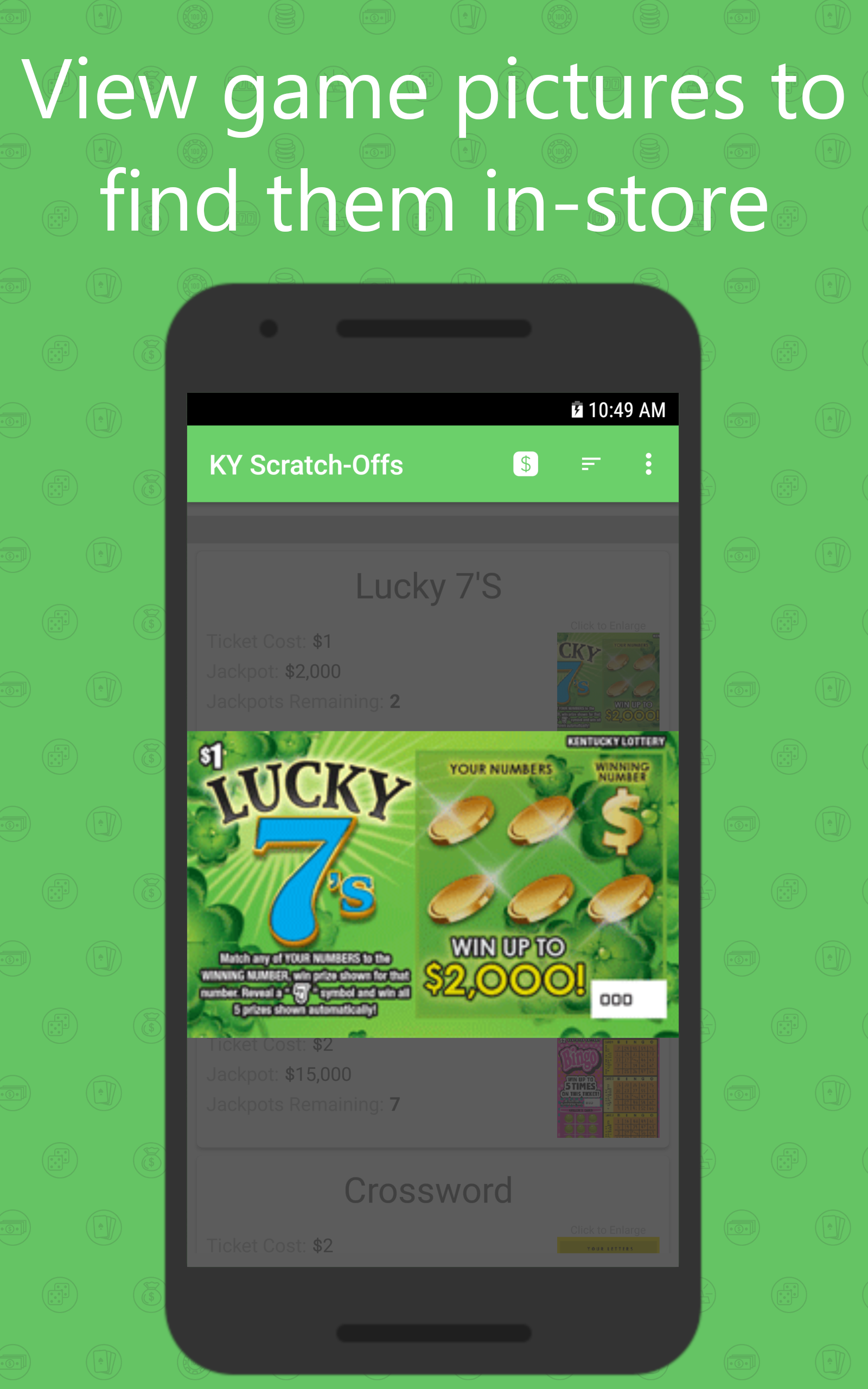 Amazon com: Scratch-Off Guide for Kentucky State Lottery