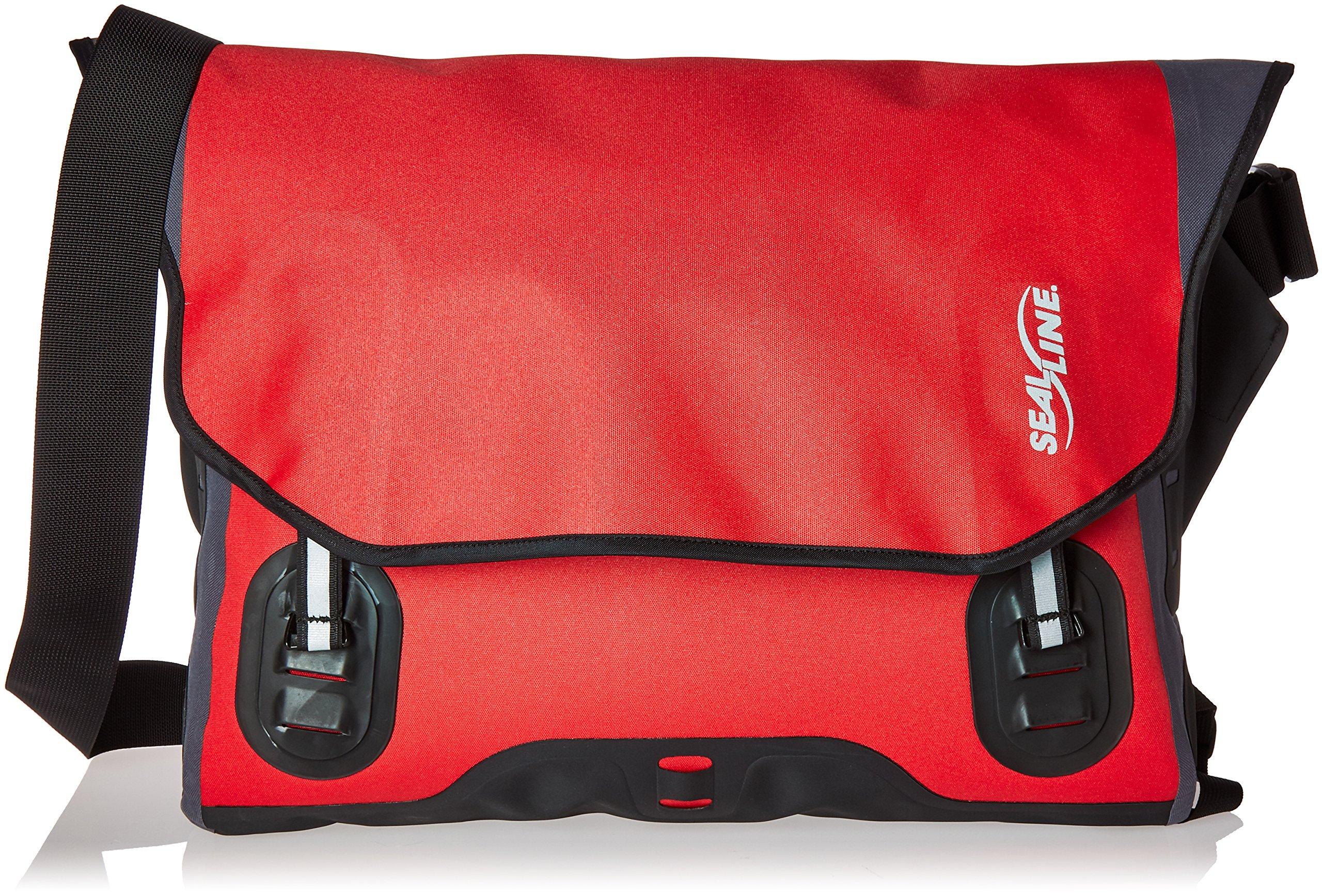 Seal Line Urban Shoulder Bag (Small, Red)
