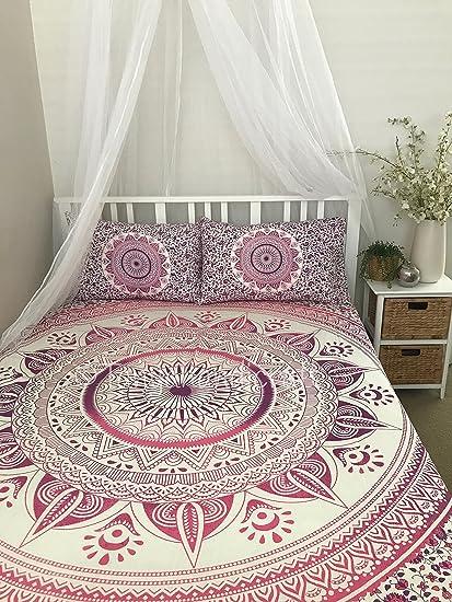 Amazon Com Tanya Handicrafts Queen Full Size Mandala Tapestry