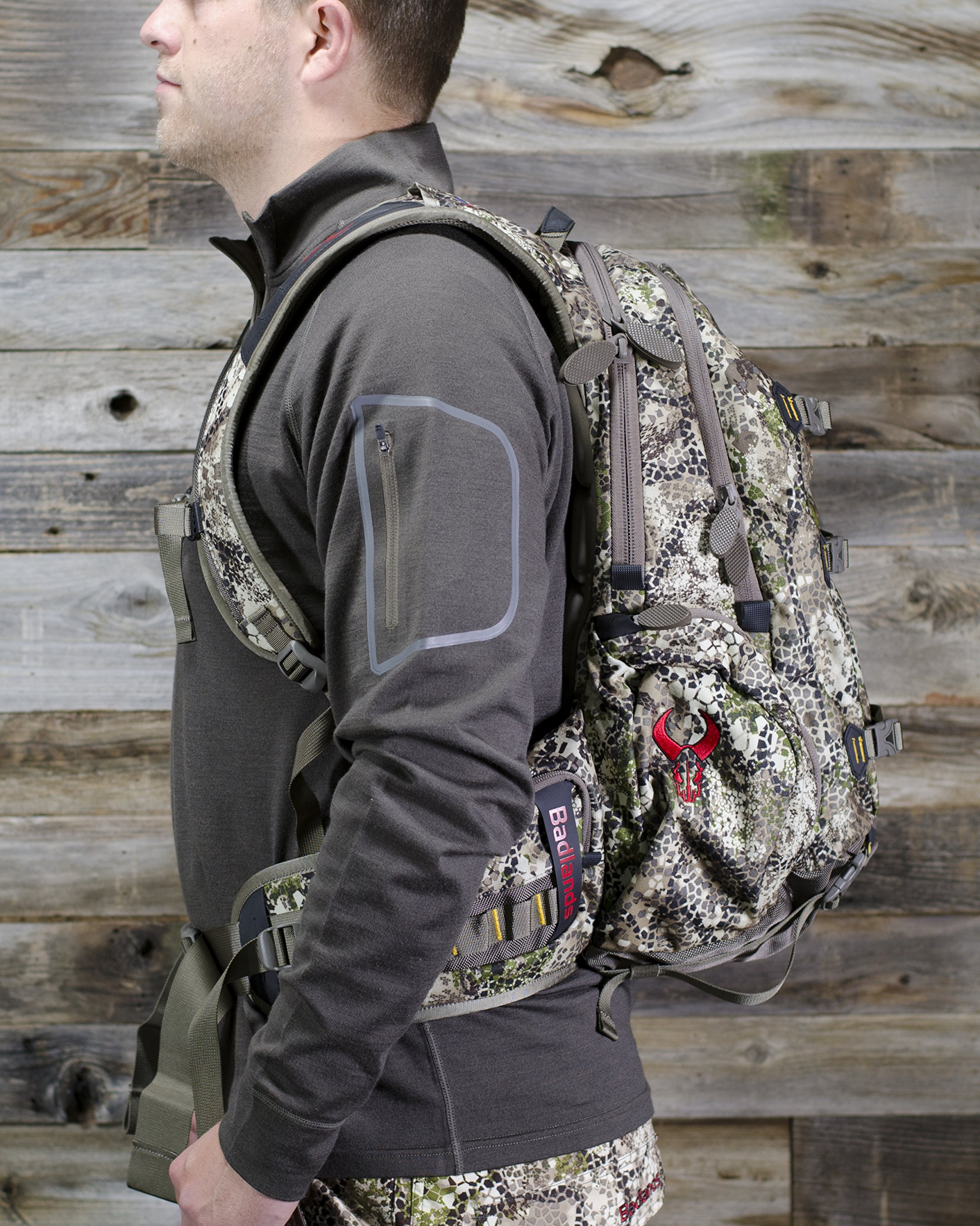 Badlands Superday Camouflage Hunting Backpack - Bow, Rifle, and Pistol Compatible, Approach Camo by Badlands (Image #9)
