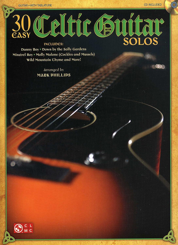 30 Easy Celtic Guitar Solos – Arreglados para guitarra – con CD ...
