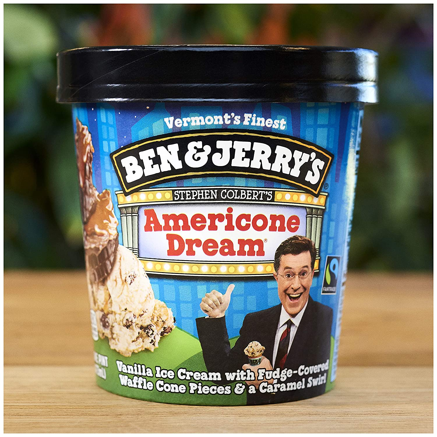 Ben And Jerry S Ice Cream Americone Dream Non Gmo 16 Oz Amazon Com Grocery Gourmet Food Ben & jerry's churned up this euphoric creation in honor of the late show funnyman. ice cream americone dream non gmo 16 oz
