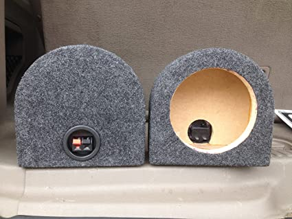 Amazon Com 6 5 Speaker Box Enclosure 6 1 2 Car Speaker Coaxial Box 5 25 Inside Diameter Car Electronics