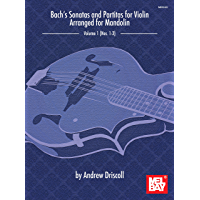 Bach's Sonatas and Partitas for Solo Violin Arranged for Mandolin book cover