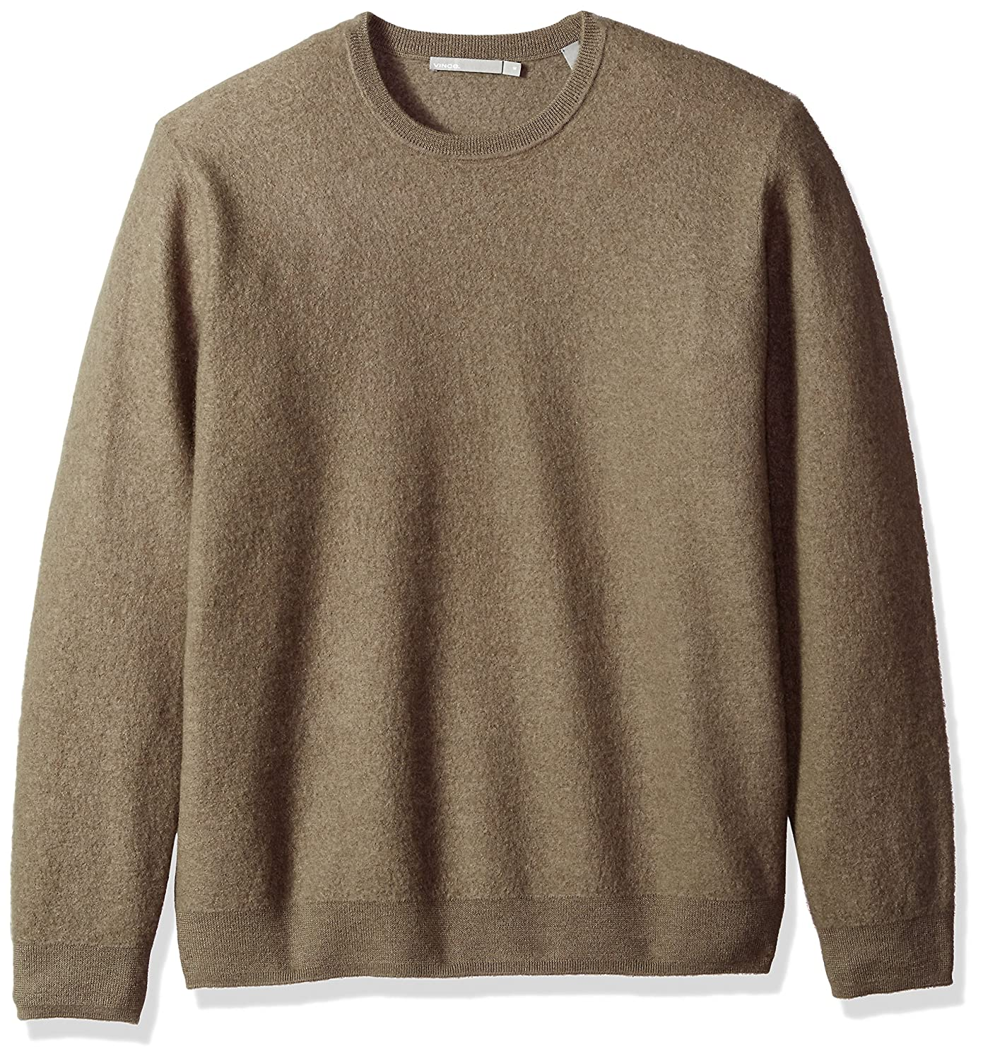 Vince Mens Simmered Cashmere Oversized Crew Neck Sweater