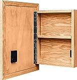 Stealth Furniture Hidden Compartment Mirror - Craftsman, Type 1