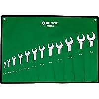 Jogo De Chaves Fixa 12 Peças Belzer Verde 6 A 32 Mm
