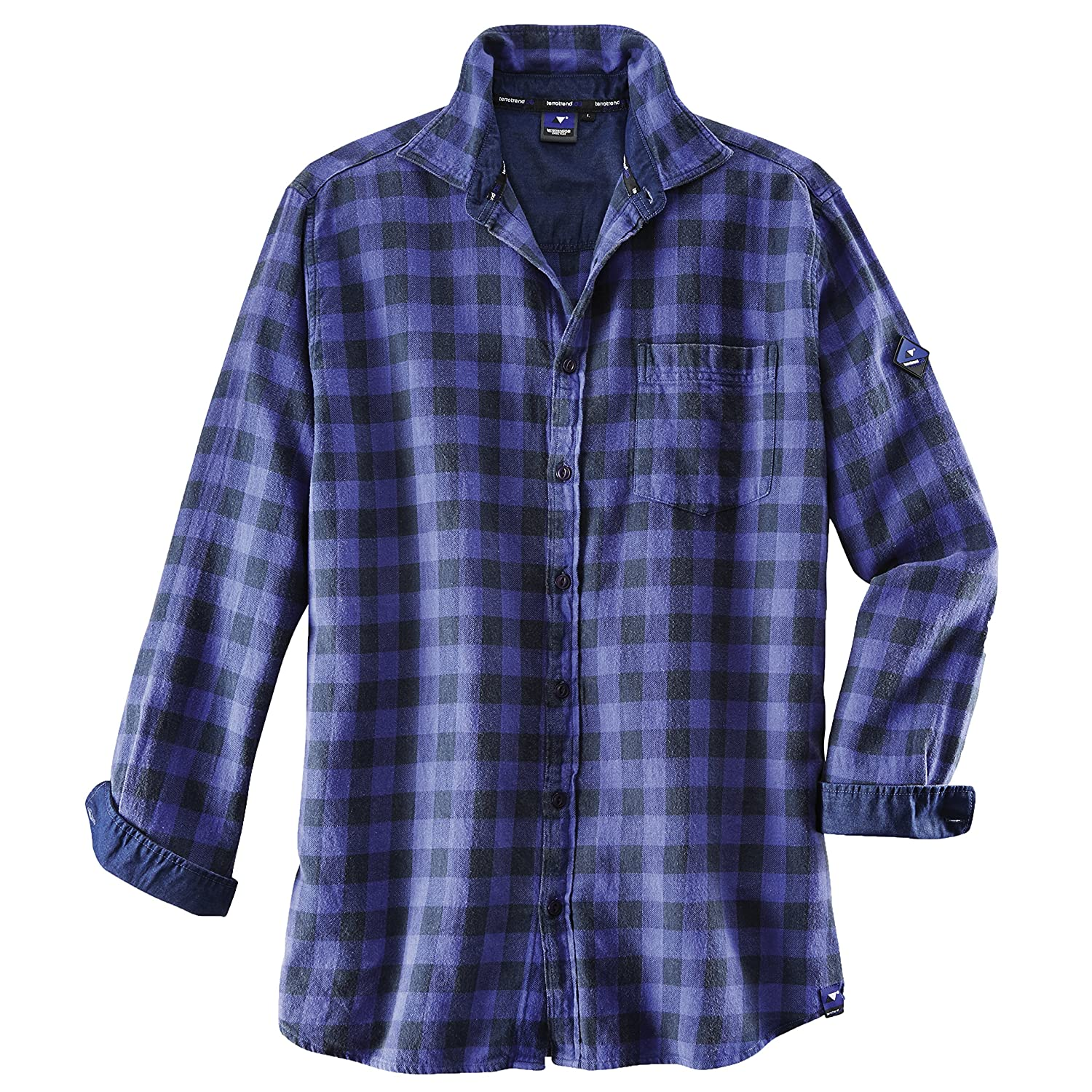 / Royal blau//anthrazit Terratrend Job 10371-xl-7264/ Gr/ö/ße X-Large Basic Plus Herren Shirt/