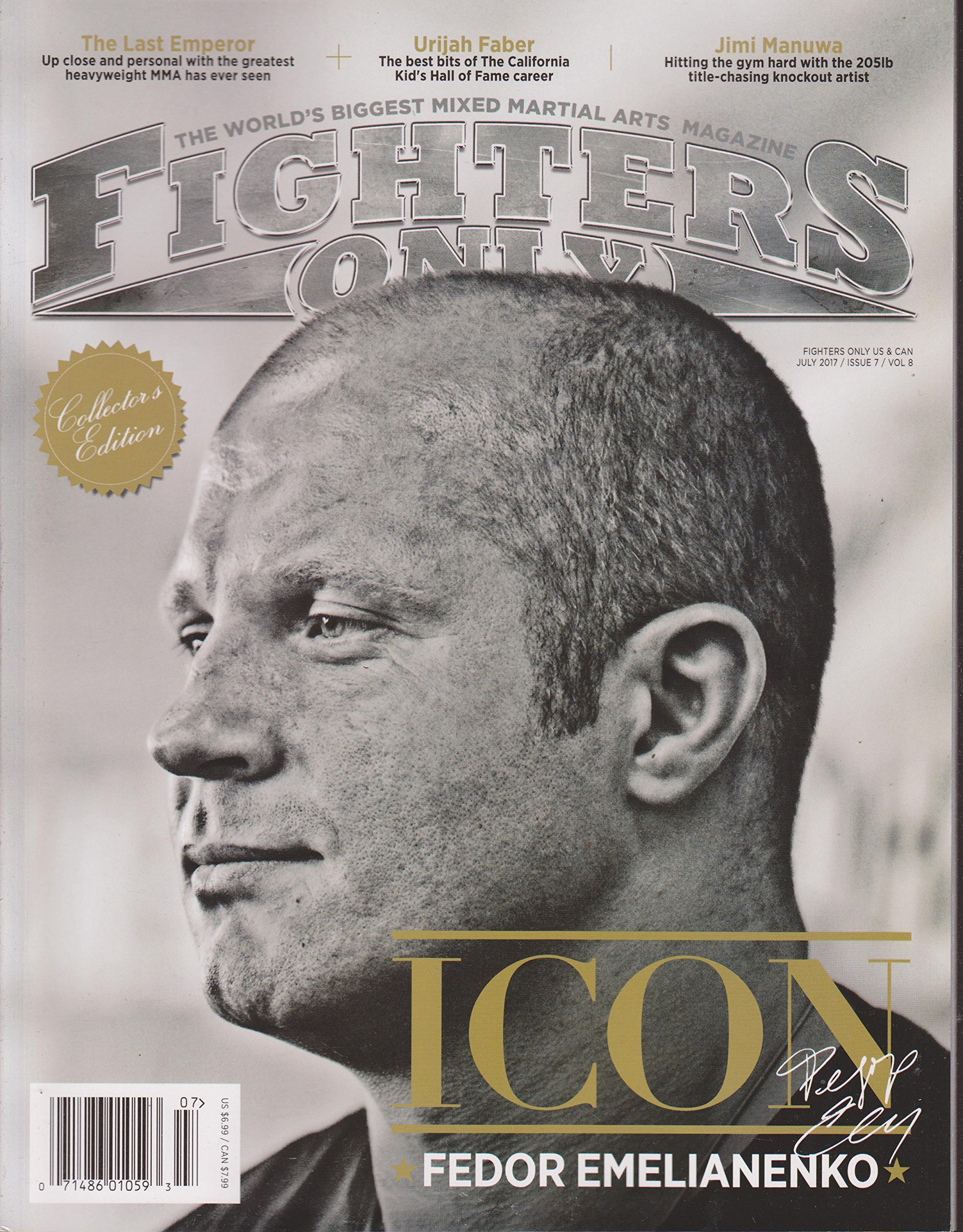 Fighters Only Magazine July 2017 ebook