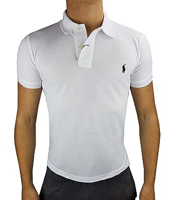 2c81fbf5603ef3 Ralph Lauren Poloshirt Herren Custom fit small pony Gr. XXL fallen kleiner  aus   weiß