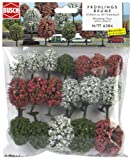 Busch 6584 - 18 Alberi in fiore da conficcare