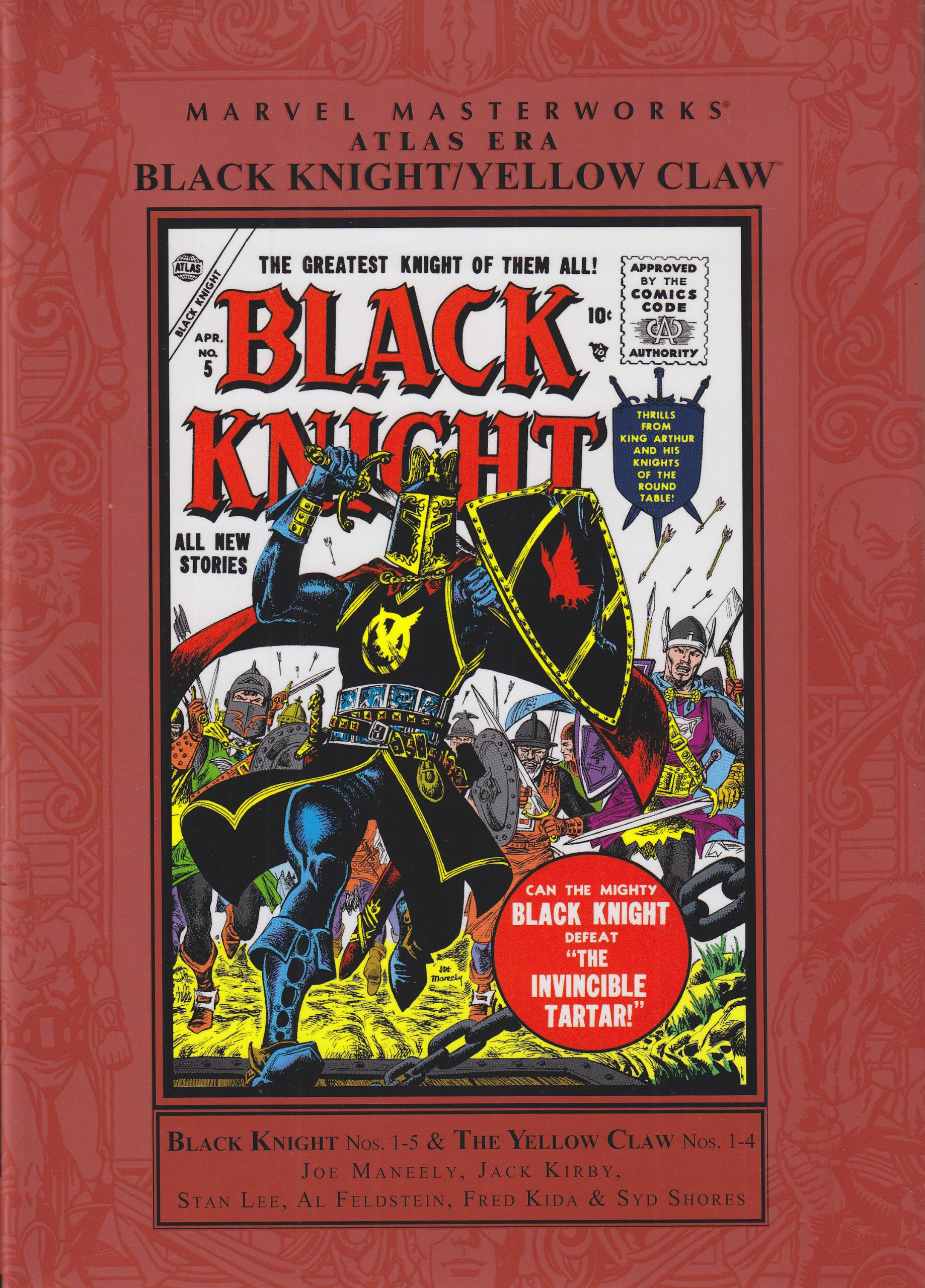 Amazon com: Marvel Masterworks Atlas Era Black Knight/ Yellow Claw