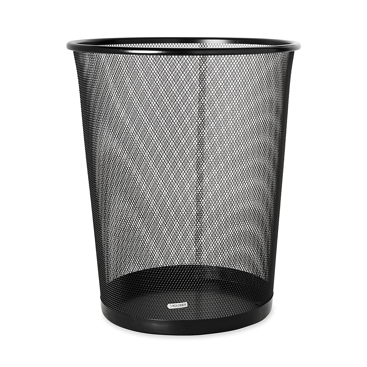 Beau Amazon.com: Rolodex Mesh Round Wastebasket, 11 1/2 Diameter X 14 1/4 H,  Black (22351): Office Products