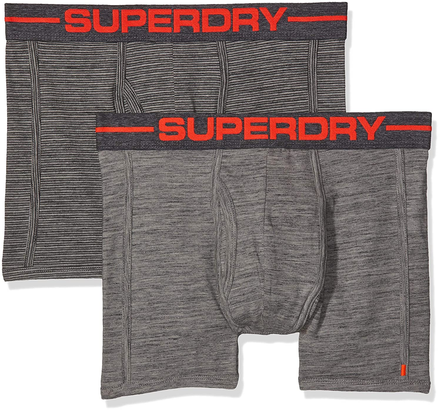 Superdry Men's Sport Boxer Double Pack Briefs