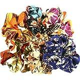 Hair Accessories Set Women Girls Pattern Scrunchies for Hair