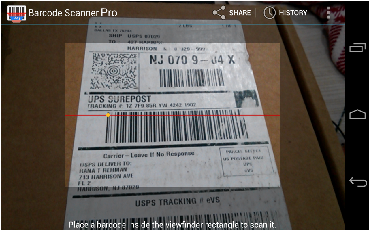 BarCode Scanner Pro - Android Version: Amazon.es: Appstore ...
