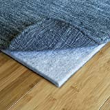 """RUGPADUSA, 2'x8', Ultra Black 27 - 1/3"""" Thick (FELT + RUBBER) Non-Slip Rug Pad, Available in 3 thicknesses, Adds Plush Cushion and Prevents Slipping, Safe for Hardwood and All Surfaces"""