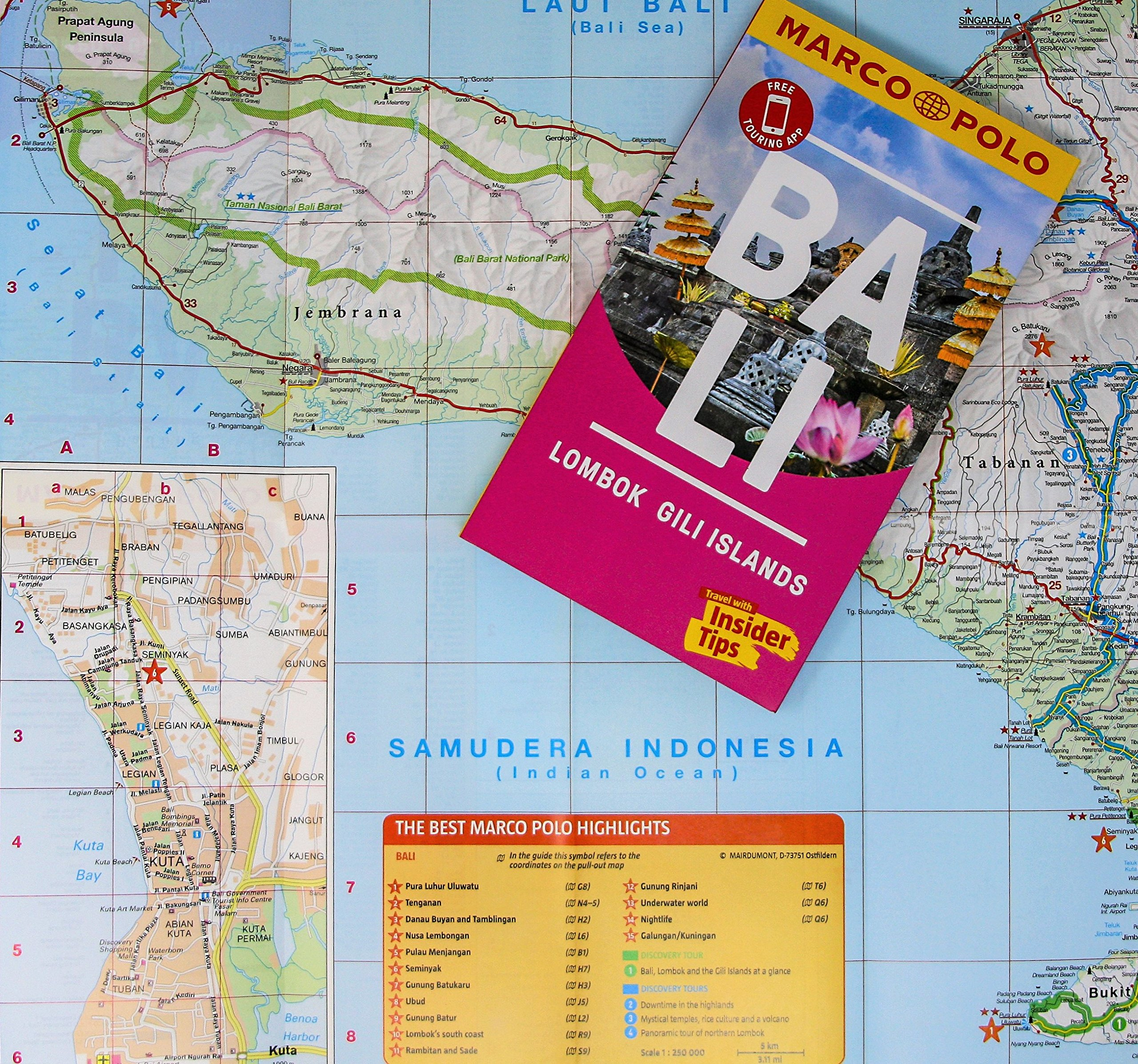 Bali Marco Polo Pocket Travel Guide 2018 With Pull Out Map Voucher Trip Menjangan Barat Guides 9783829707619 Books