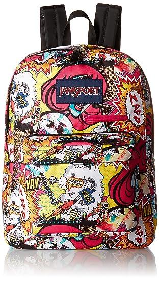 Amazon.com  Jansport Digibreak Laptop Backpack - Pop Art  B H Brands 85a679301a2d3