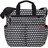 Skip Hop Baby Duo Signature Diaper Bag, Connected Dots, Black