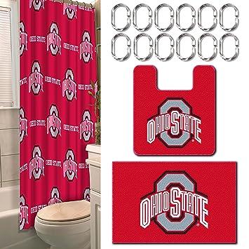 Amazon.com: 15 Pc. Ohio State University Bath-set: Beauty
