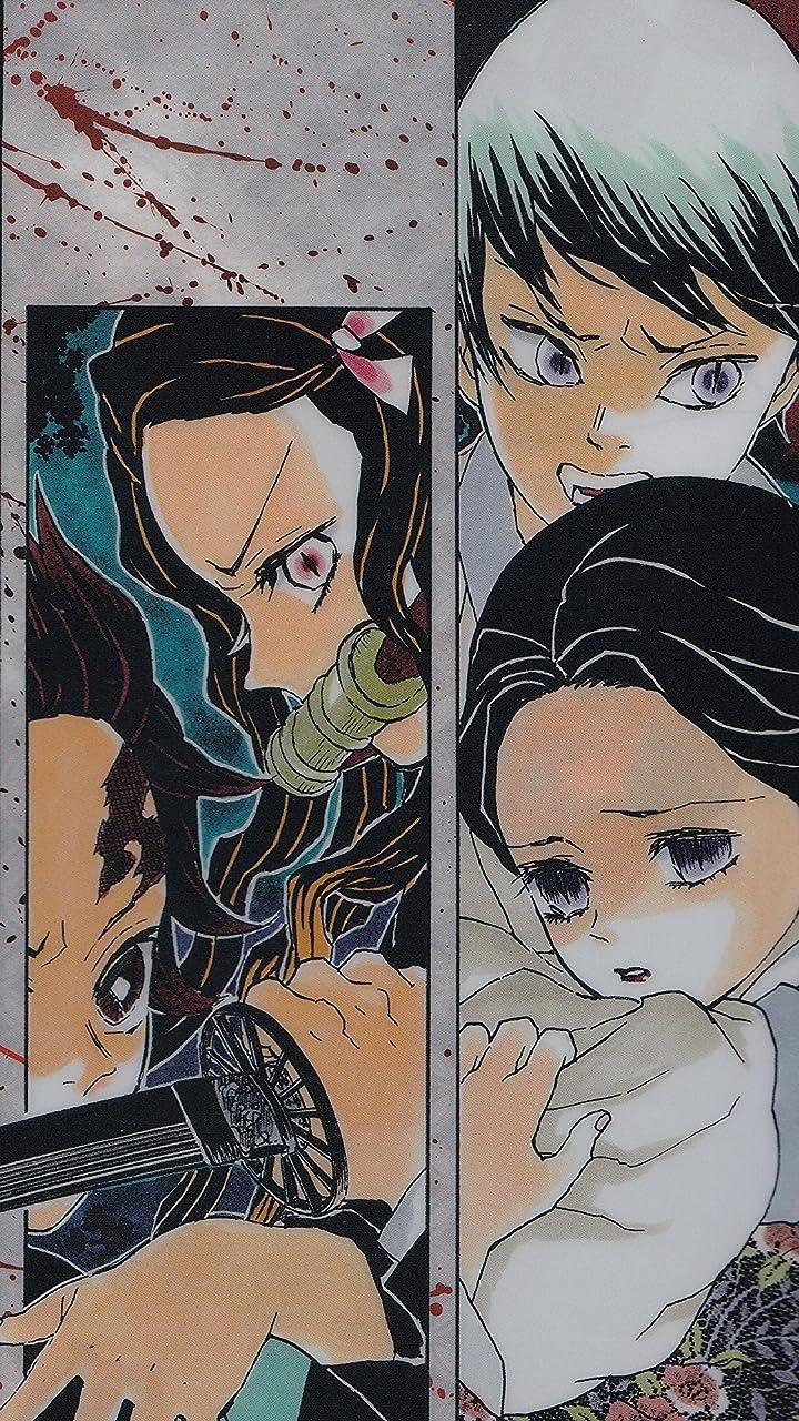 鬼滅の刃 竈門炭治郎,竈門禰󠄀豆子 , 愈史郎(ゆしろう),珠世(たまよ) HD(720×1280)壁紙画像